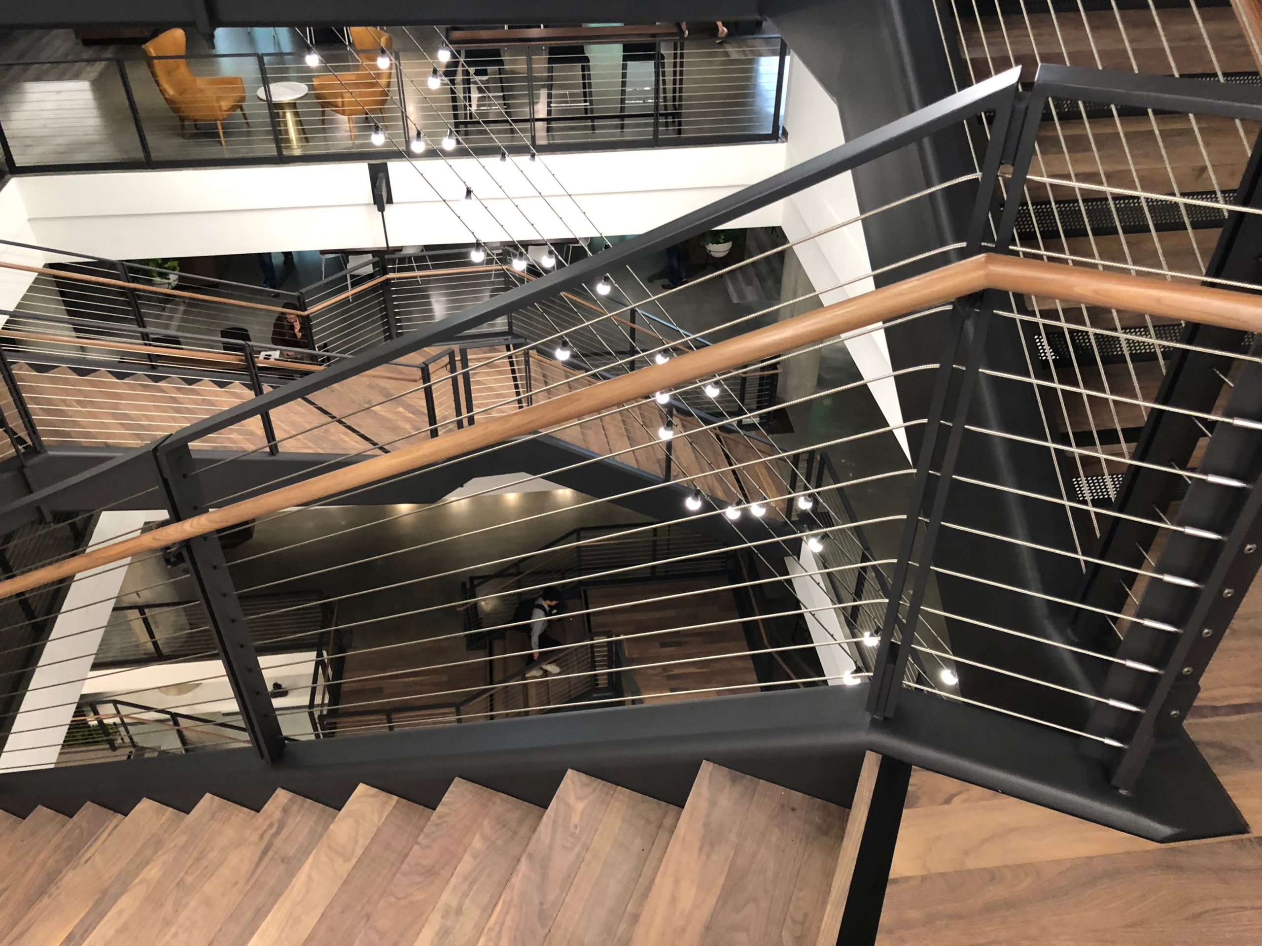 Suspended Stairs